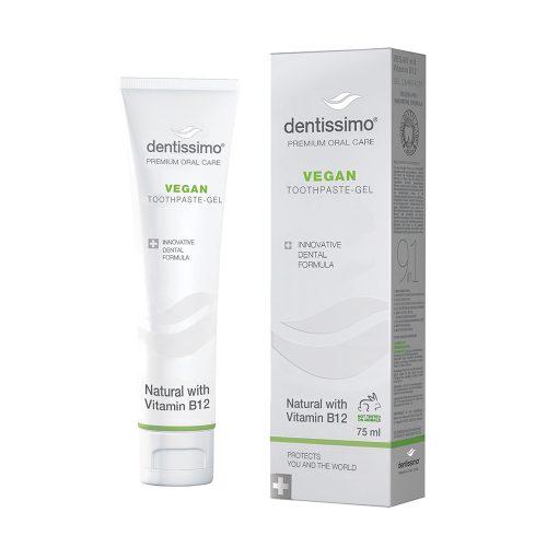 """Dentissimo """"Vegan and Vitamin B12"""" kasdienė dantų pasta – gelis"""