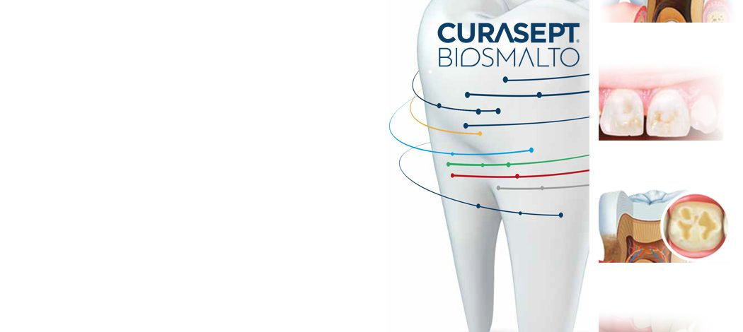 CURASEPT  BIOSMALTO dantų geliai: stiprybė tavo dantims